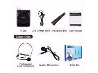 Voice Amplifier/Headset Microphone/Mini Portable Loudspeaker