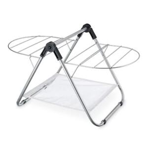 """New Polder DRY-2030-75 Countertop Clothes Drying Rack, 29.25"""" x 16.25"""" x 17"""", Silver PU2"""