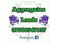 Aggregates delivered Yorkshire type 1 6f2 hardcore recycled quarried sub base stone sand crusher