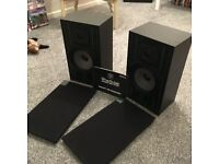 wharfedale speakers with instruction booklet