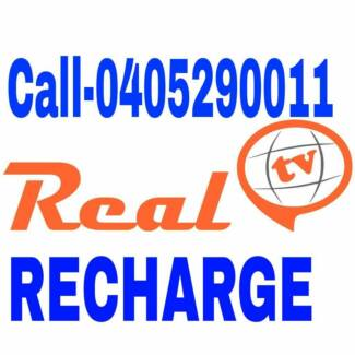 REAL TV / LIVE TV /FITV  RECHARGE OR NEW BOXES