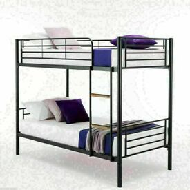 🔵💖🔴MANY MATTRESSES RANGE🔵💖🔴METAL BUNK BED SINGLE BOTTOM AND TOP STANDARD 3FT SIZE BUNK BED