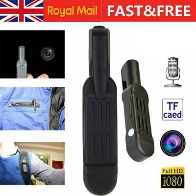 Hidden 1080P HD Pocket Pen Camera Spy Mini Portable Body Video Recorder DVR Cam