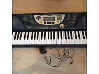 REDUCED - Yamaha Portatone PSR-270 Keyboard, complete with manual