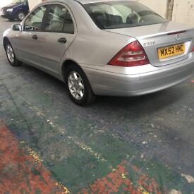 Mercedes 2002 diesel cheap £925ono