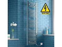 Electric towel radiator 1600 x 450