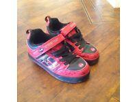 Spiderman heelies. Size 13 children boys girls shoes