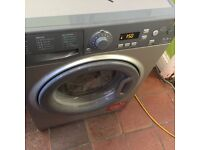 Hot point Silver 8kg washer...Mint free delivery