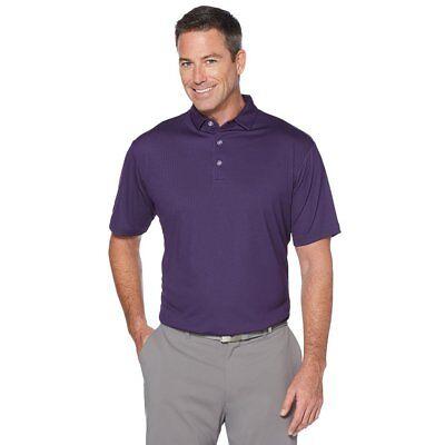 NWT New $49 Callaway Golf Polo Shirt Performance Birdseye Pebble Knit Tournament Birds Eye Performance Polo