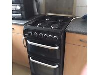 Hotpoint Gas Cooker 5ocm Wide Double Oven