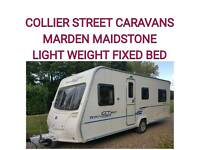 2010 Bailey ranger gt60 520 fixedbed 4 berth caravan