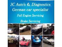 German car diagnostics main dealership level