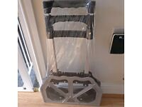 SOLD!!! NEW 80KG Aluminium heavy duty folding trolley cart (industrial hand sack)