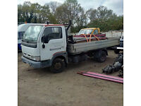 2003 Nissan Cabstar E120 6 tyres 3.5 Ton truck.