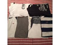 4x Hollister Superdry OWKAY T Shirt Bundle Men's XL