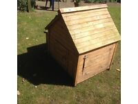Hen house for approx. 4 chickens