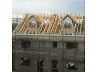 Roofing labours to assist carpenters doing truss / cut roofs