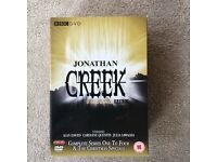 Jonathan Creek - Complete Series 1-4 & The Christmas Specials Boxset