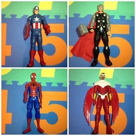 """12"""" Superhero figures bundle"""