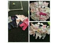 Baby girls clothes.