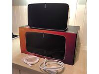 SONOS PLAY:5 (Generation 2) Smart Wireless Speaker. White. Boxed.
