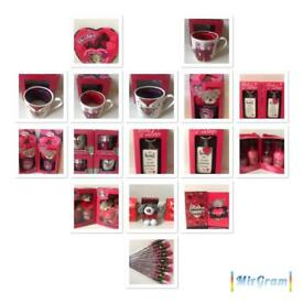 Valentines day romantic gifts for him for her £4 each or 3 items for £10