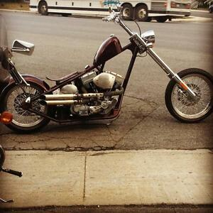 Custom chopper 127ci / trade