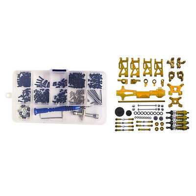 Car Parts - 2 Full Set 1:14 RC Car Accessory Screws & Nuts Spare Parts for WLtoys 144001