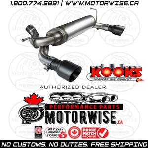 Kooks Exhaust Axleback for 2007-2018 Jeep Wrangler JK | Shop Performance online at www.motorwise.ca