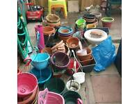Hanging baskets and tubs joblot
