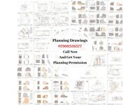Online, Experts in Architecture, Drawings for Planning, Loft Conversion, Side, Rear Extensions.