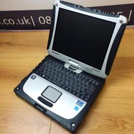 Panasonic Toughbook CF19 MK5 Core i5 4GB Ram 128GB Solid State Drive Windows 10 Professional Boxed
