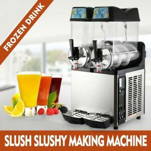DOUBLE FLAVOR SLUSH MACHINE - BRAND NEW - FREE SHIPPING