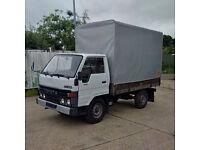Left hand drive Toyota Dyna 150 3.5 Ton tilt truck. MOT till 2017.