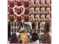 Mobile Hairdresser/Hair extensions/Make up