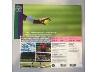 Wimbledon Men's Final Ticket Fo Sale Debentures Seat
