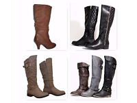 Job Lot Womens Shoes and Boots Wholesale Clearance 370+ Pairs