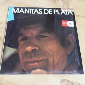 Manitas De Plata ~ Excitement Of ~ 1973 UK 7-Track LP ~ RCA Camden CDS 1138