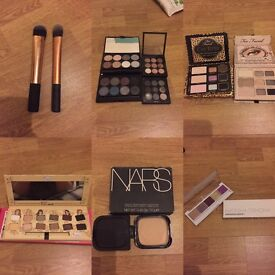 Lots of different make up for sale. From high end to drugstore