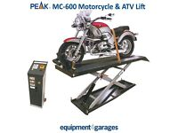 Brand New Motorcycle Lift PEAK E4G MC-600
