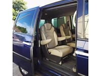 New M.O.T Diesel, 6 seats, Peugeot 807 leather, FULL version, DVD, CD, PlaySt cn, Navigation, mint,