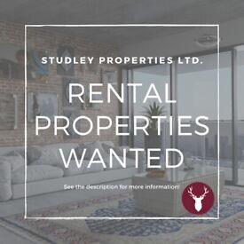 Manchester Rental Properties Wanted - Studley Properties Ltd.
