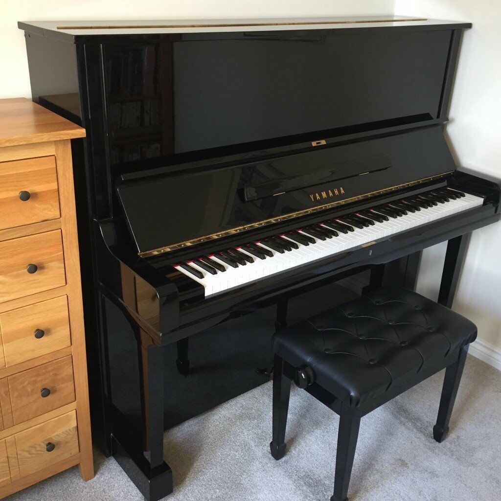 YAMAHA U3 UPRIGHT PIANO and matching stool