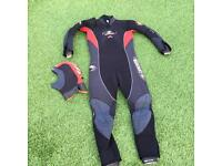 BEUCHAT 5mm diving suit