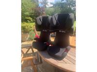 2x Cybex kids car seats ECE R 44/04 15/36 kilo