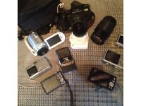 (Great camera must go)Pentax sf 7 camera (joblot) Samsung hitachi Pentax and others