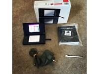 Boxed Black DS lite with carry case