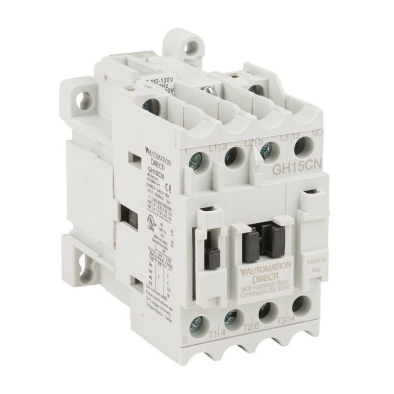 Automation Direct Contactor GH15CN-3-10A 110-120V 50-60Hz 3 Pole NEW IN BOX