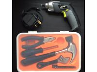 Tool Kit + Electric Screwdriver