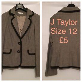 J Taylor jacket ladies